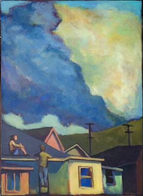 Cloud Watchers, by Carol Aust