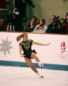 Queen of mishaps on and off the ice, '92 Olympics