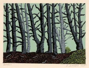 Woods #1, by Laurie Sverdlove