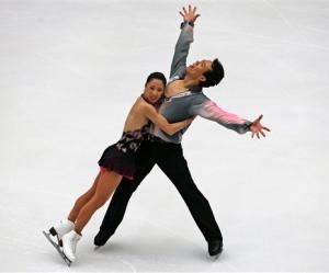 Shen & Zhao: (AP Photo/Elizabeth Dalziel)
